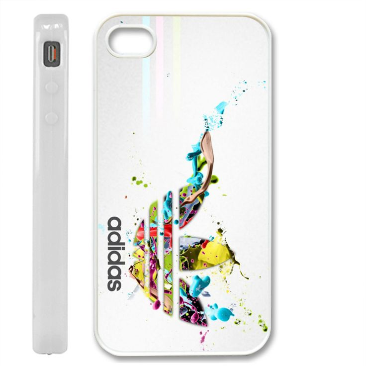 adidas new arrival - white for iphone 4/4s and iphone 5 case