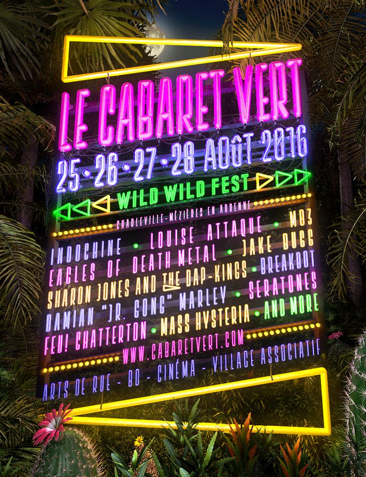 M83, Jake Bugg, Damian Marley, Eagles of Death Metal, ... au Festival Cabaret Vert