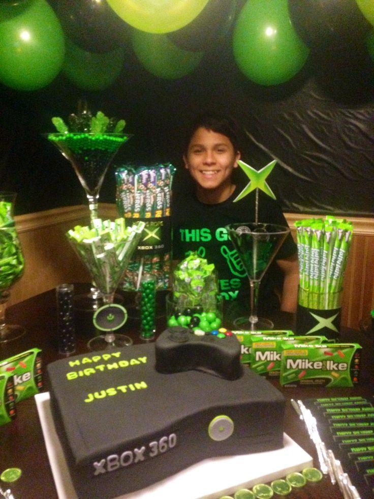 X Box Buffet Xbox Games Trending Xbox Games For Sales Xboxgames Xbox Games X Box Buffet Video Games Birthday Party Xbox Birthday Party Xbox Party