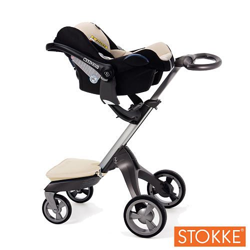 stokke stroller with maxi cosi car seat baby registry pinterest cars car seats and products. Black Bedroom Furniture Sets. Home Design Ideas