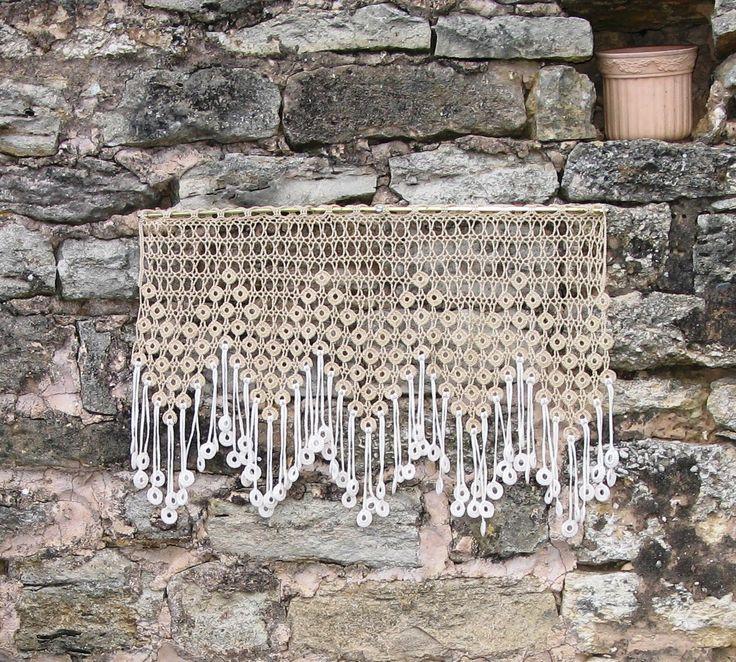 1000 id es sur le th me rideaux en crochet sur pinterest. Black Bedroom Furniture Sets. Home Design Ideas
