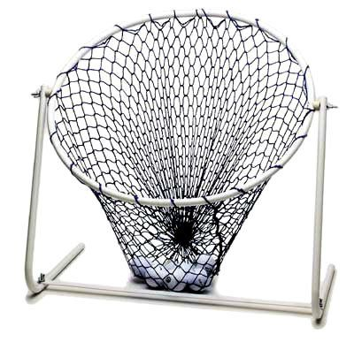 These high quality adjustable golf chipping nets by ProActive feature an 18 inch diameter practice chipping net