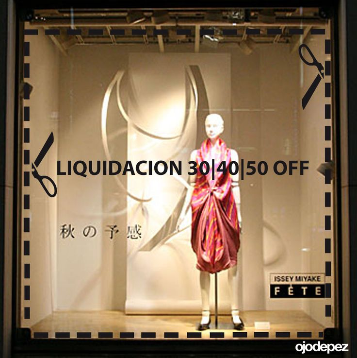 Vinilo Liquidación 044: Vinilos decorativos Liquidación Vinilos adhesivos vidrieras escaparates show window Window Display Wall Art Stickers wall stickers