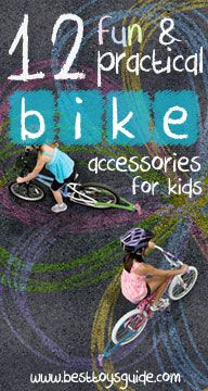 12 Fun & Practical Bike Accessories for Kids.