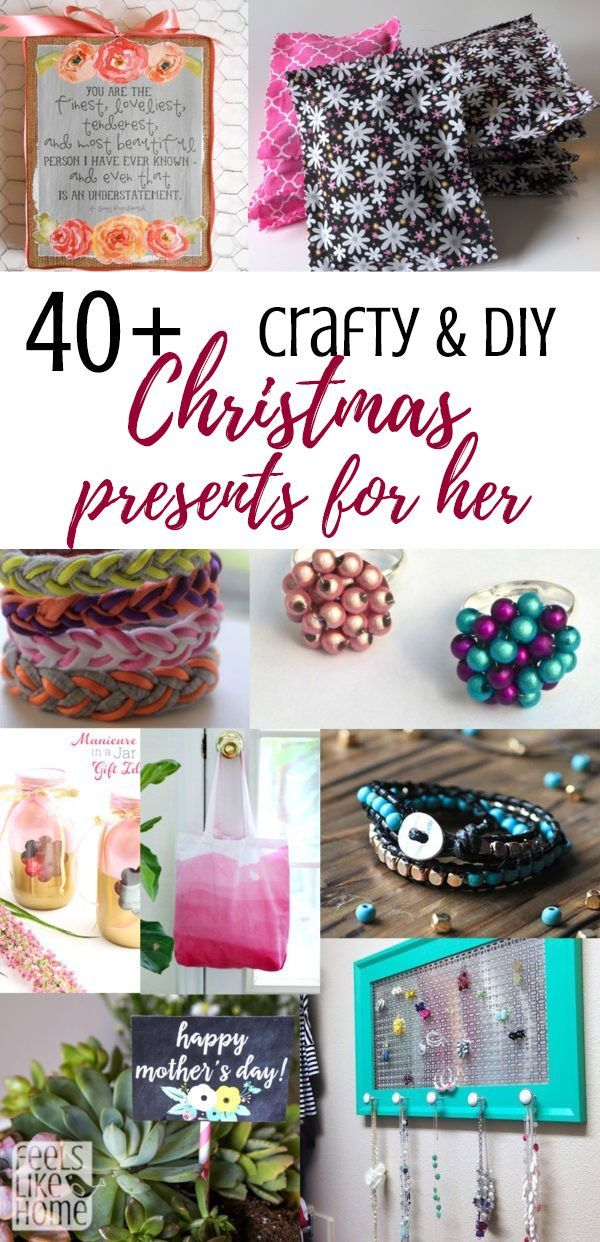 Crafty Diy Sentimental And Thoughtful Christmas Gift Ideas From Daughter Or S Tweens Kids For Mom Any Women Many Unique