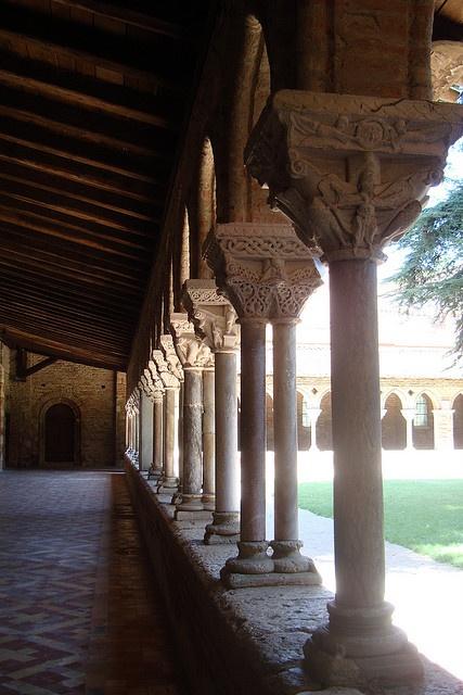 St. Pierre Abbey Cloister, Moissac, France