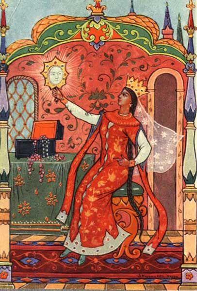 Los cuentos de hadas de Pushkin.  Madrastra.  Kurkin