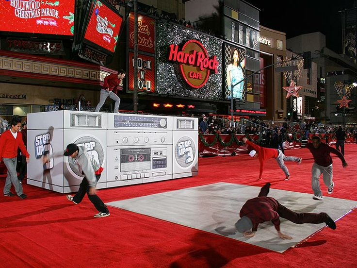 We built a giant boom box for Walt Disney Studios to promote their film Step-Up 3 at the Hollywood Christmas Parade.  See more at http://www.asv1.com/our-work/step-up-3/  #Disney #StepUp #Hollywood #Christmas