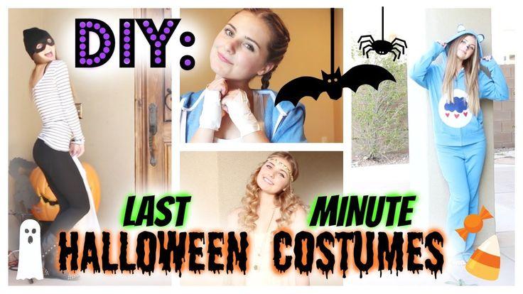 diy last minute halloween costumes affordable hautebrilliance costumes pinterest. Black Bedroom Furniture Sets. Home Design Ideas