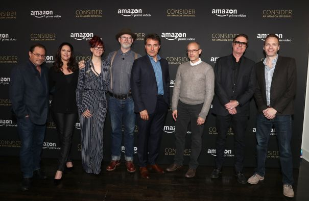 """'The Man In The High Castle' Stars On """"The Stories That Societies Tell Themselves"""" — AwardsLine Screening Series"""