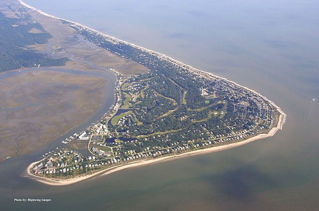 Edisto Island is one of South Carolina's Sea Islands, the larger part of which lies in Charleston County, with its southern tip in Colleton County. The Charleston County part is a census-designated place. The population was 2,301 at the 2000 census. The town of Edisto Beach is located in Colleton County.