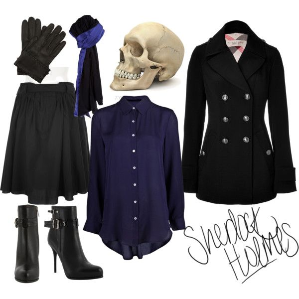 This is a lot like what I want, except with a gray skirt instead of black because my coat is black.