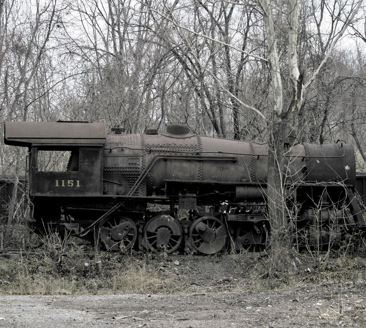 Steam Locomotive - They all end up here sooner or later.