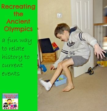 Ancient Olympic activities - Adventures in Mommydom
