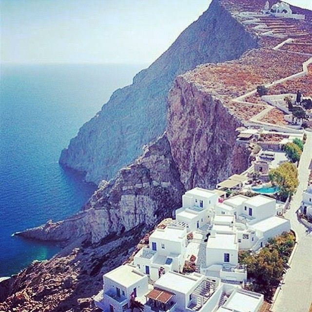 What a view! Anemomilos Apartments Folegandros  Image credit: #travelista73