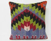 large throw pillow 24x24 large pillow cover euro pillow sham large floor pillow big throw pillow large kilim pillow 24x24 kilim pillow 21470