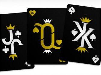 Cartes à Jouer Luxe Vanda Golden Edition chez Baron des échecs