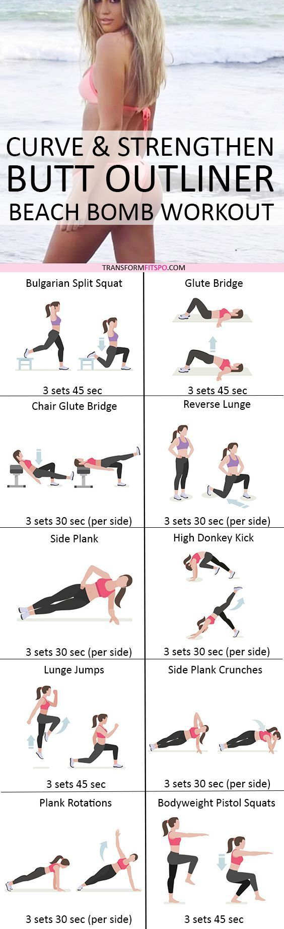 Best 25+ Bum Workout Ideas On Pinterest | Butt Workouts, Glutes And Thighs