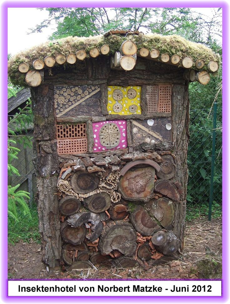58 besten insektenhotel bilder auf pinterest bug hotel insektenhotel und insekten. Black Bedroom Furniture Sets. Home Design Ideas