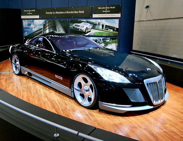 Maybach Exelero ~ The Most Expensive Sport Car $8 Million Dollar