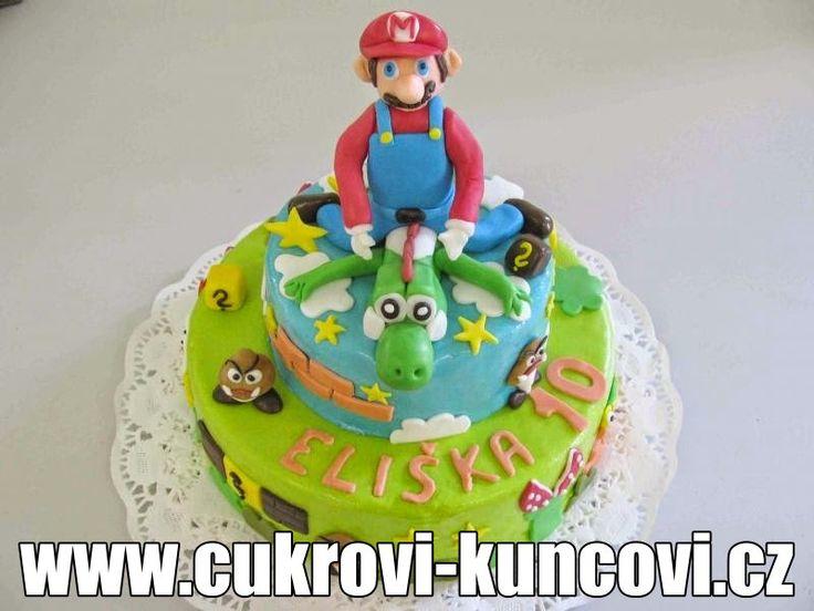 super Mario Kuncovi,  www.cukrovi-kuncovi.cz  Brno - Maloměřice, Hádecká 8, mob: 607 606 941
