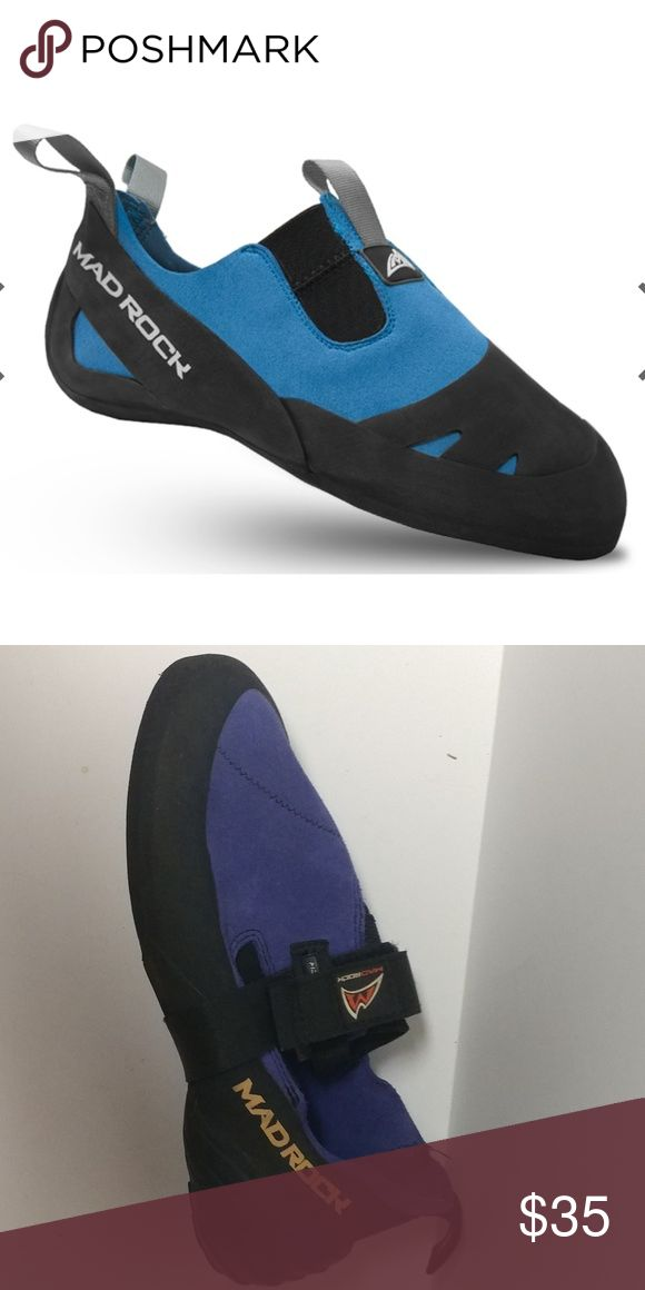 Rock climbing mad Rock shoes 9.5 Actual shoe 2nd picture good condition. Shoes Athletic Shoes