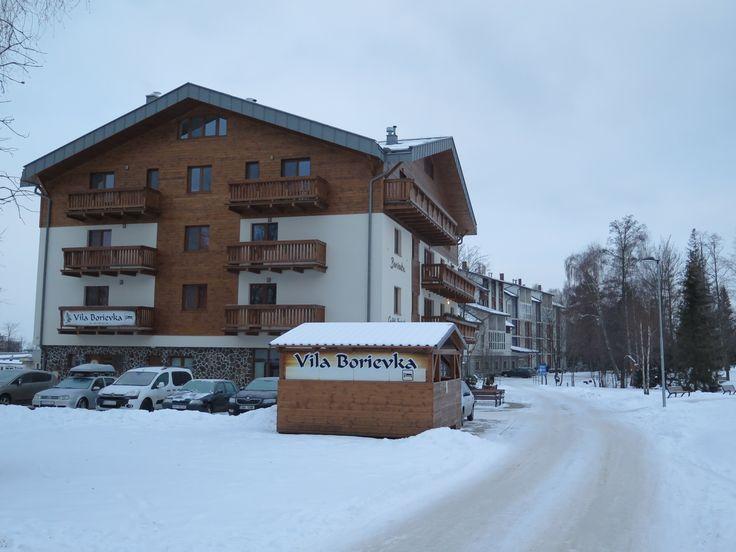 Vila Borievka - Tatranská Lomnica - január 2016