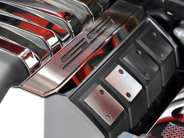 """2010-2013 Chevy Camaro Fuel Rail Covers with """"SS"""" Lettering"""