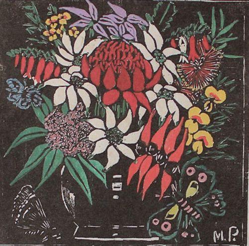 Waratah 1925. Margaret Preston