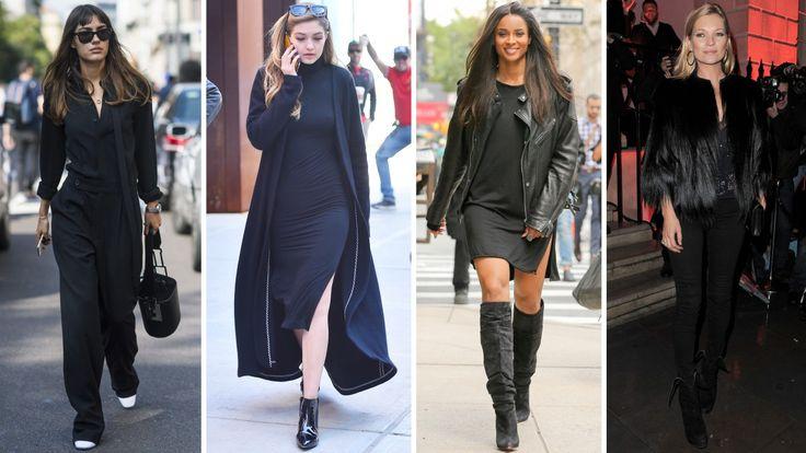 Sex sätt att ta din svarta outfit till en helt ny nivå
