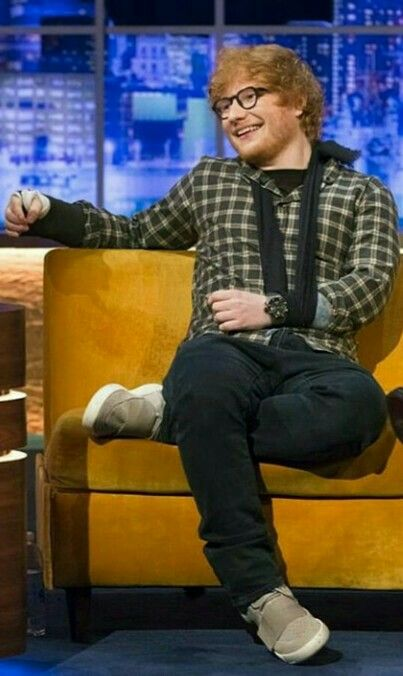 Ed while on The Jonathan Ross Show...