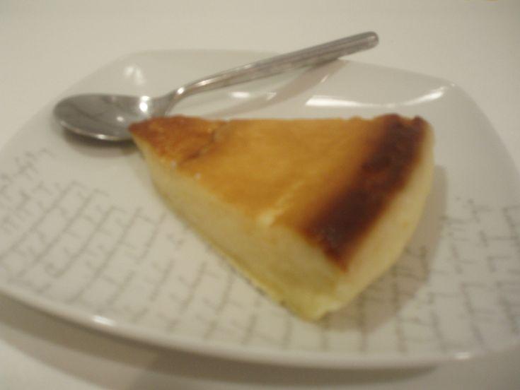 Receta de tarta de queso facil al microondas