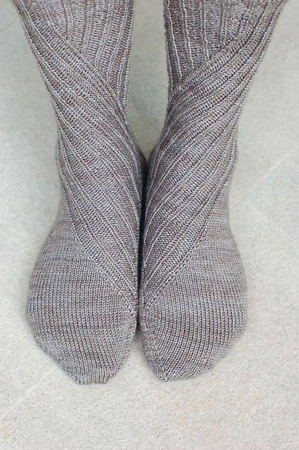 Ravelry $6: Slide Socks by Cookie A