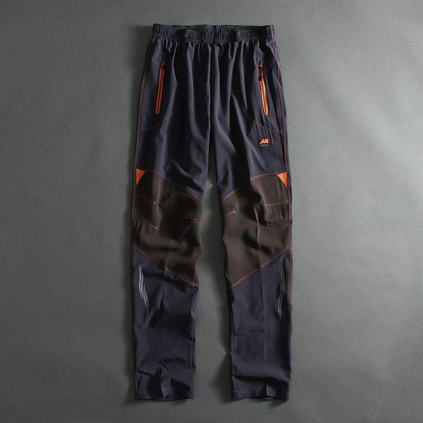 51SHOP внешнеторговые спорта на открытом воздухе мужские мужские и отдых быстросохнущие брюки смешанные цвета упругие талии брюки