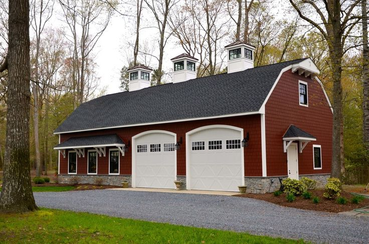 44 best images about gambrel on pinterest dutch colonial for Red barn houses