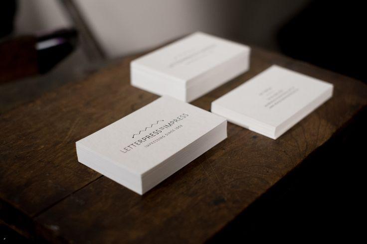 Letterpress to Impress business cards by Fletcher Creative. #branding #cottonstock #letterpress #logo #identity #icon #creative #graphicdesign #design #designstudio #fletchercreative