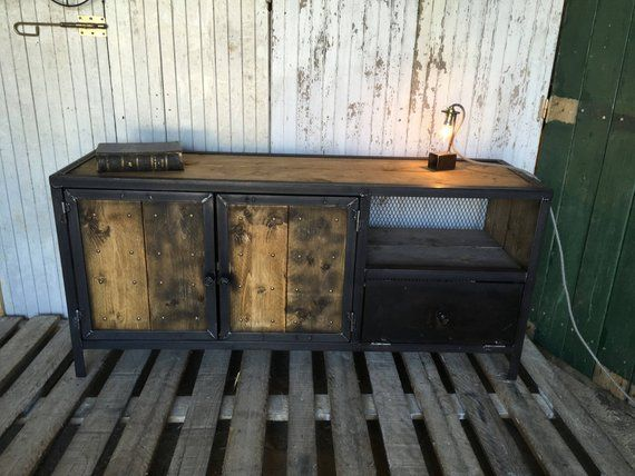 Industrial Furniture Ref Nad Wood And Steel Muebles Industriales