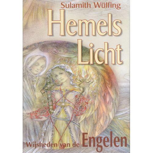 Hemels licht kaarten Sulamith Wülfing De stralende boodschappen komen van een hogere werkelijkheid. De engelen betoveren je enerzijds door hun ontroerende schoonheid. Anderzijds spreken ze de wijsheid van het hart aan. Het boekje verklaart de boodschap van de engelen.