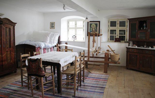 Szentendre - Szabadtéri Néprajzi Múzeum - House from Fadd - parasztház