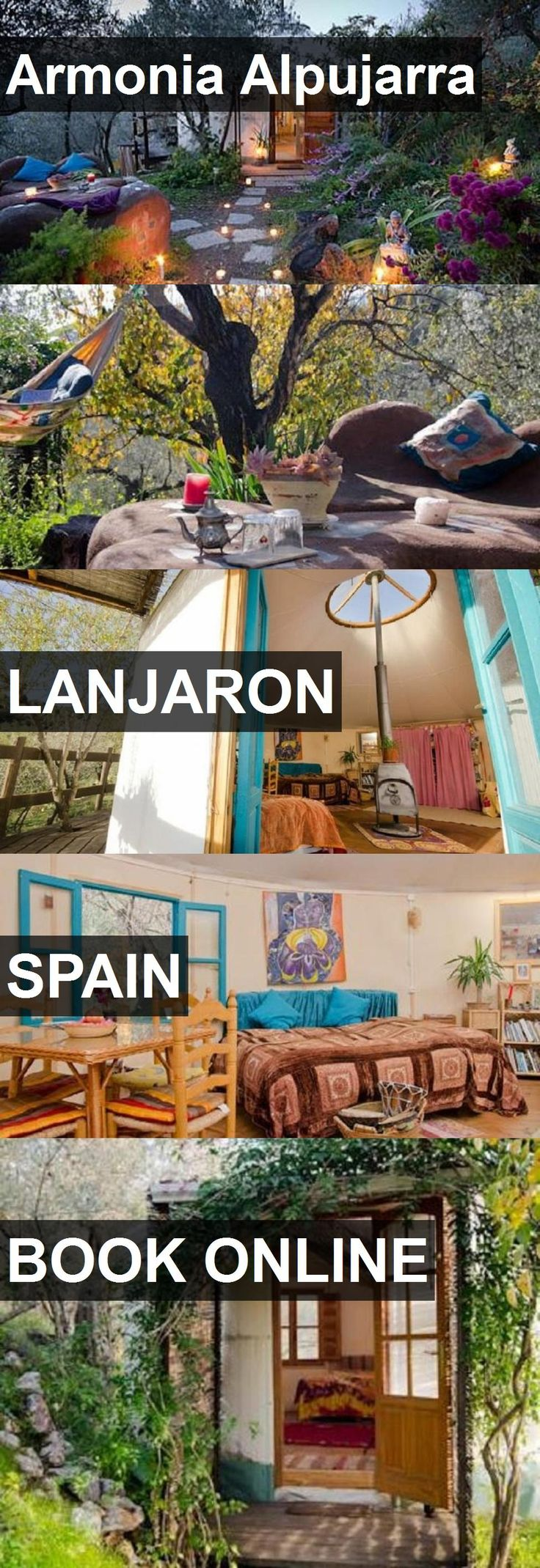 Hotel Armonia Alpujarra in Lanjaron, Spain. For more information, photos, reviews and best prices please follow the link. #Spain #Lanjaron #travel #vacation #hotel