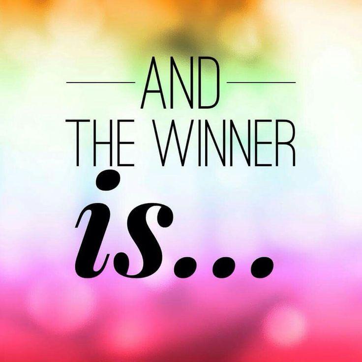 Winner is...