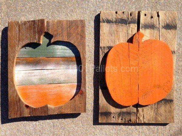 22 Halloween Decorations Made Out Of Recycled Pallets • 1001 Pallets