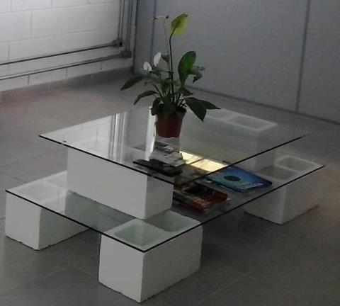 decoração com blocos de cimento - Pesquisa Google