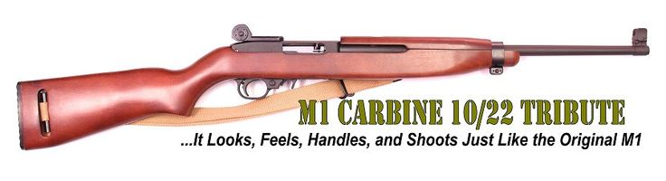 M1 Carbine Replica Ruger 10/22 Conversion Stock and Tribute