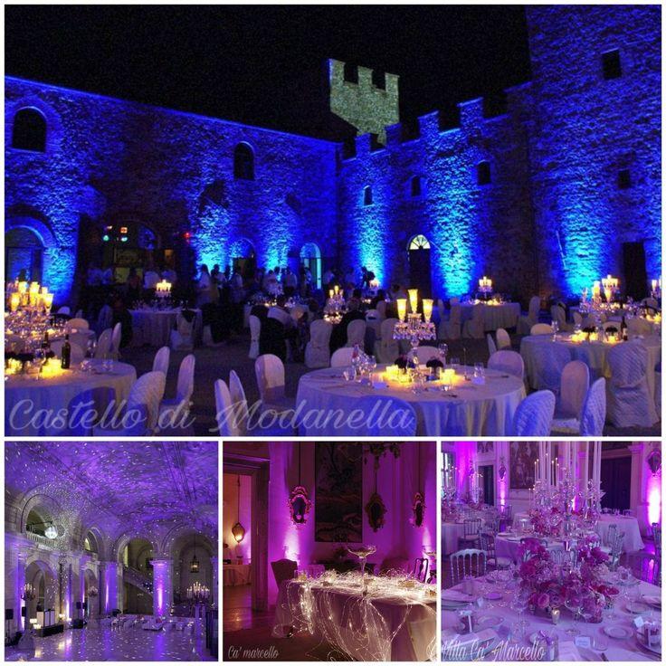 Il lighting design è il modo più semplice ed efficace per rendere e trasformare uno spazio da ordinario a straordinario.  #lightingdesign #luci #illuminazione #matrimonio #eventi #nozze #sposi #festa #weddingplanner #eventplanner #senigallia #marche #Emiliaromagna