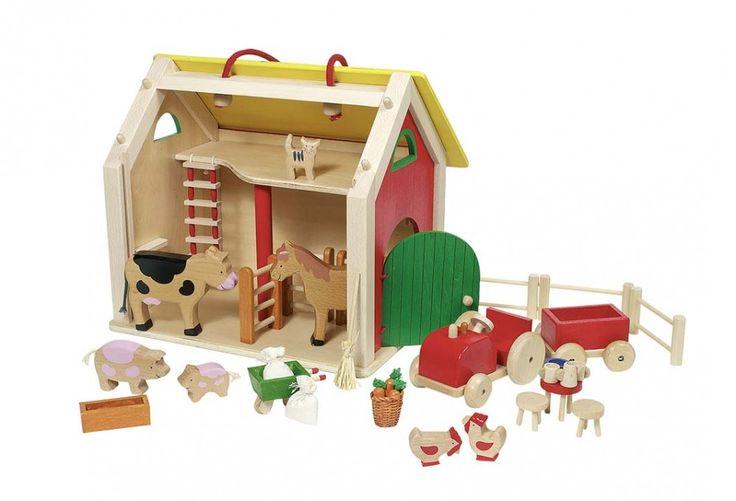 Domek dla zwierząt na farmie | http://www.kolory-marzen.pl/gospodarstwa-farmy-stadniny,005001014.html