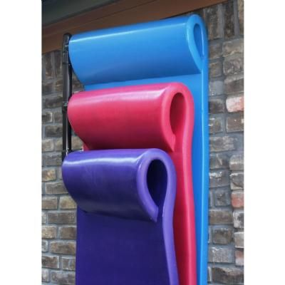 Pool Float Storage 3 Float Rack Wall Mounted for $109.99 #PoolsideAccessories #CozyDays