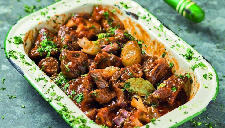 Hearty stew: Springbok shank potjie   Go Southern Africa