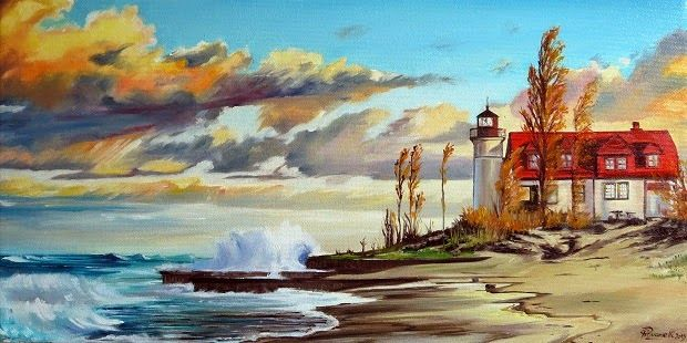 "artitudine: ""Point Betsie Lighthouse"""