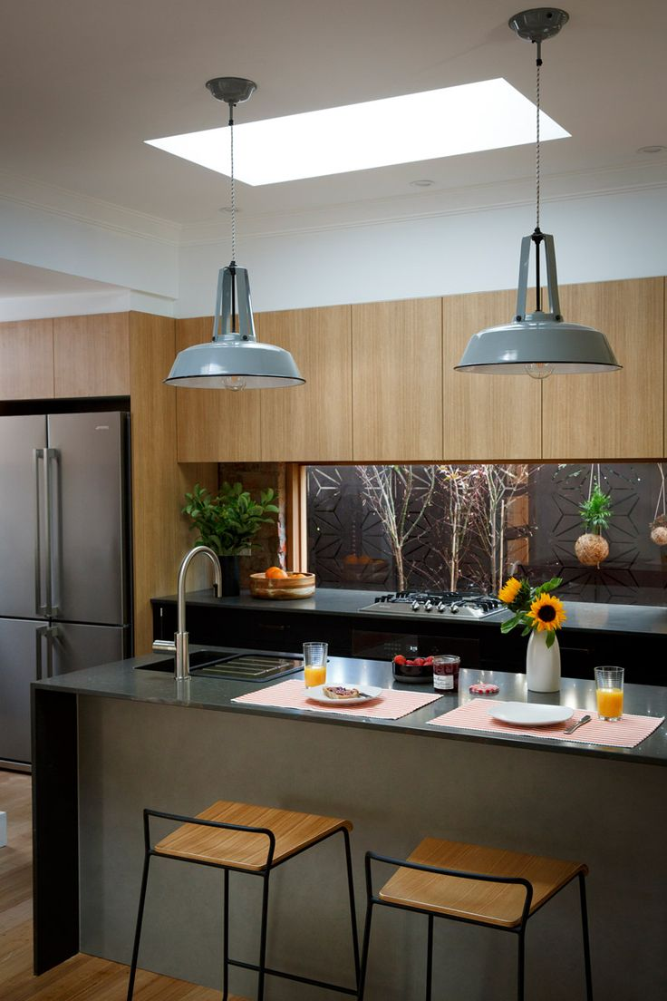 Carly Leighton Reno Rumble Freedom Kitchens Caesarstone Piatra Grey Modern Kitchen Colours